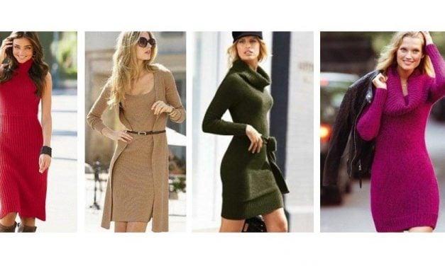 Kışlık Elbise Modelleri