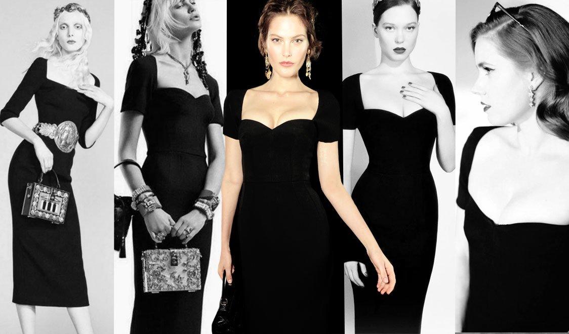 siyah elbise çeşitleri